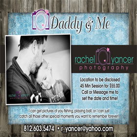 Now Booking Daddy & Me Sessions!
